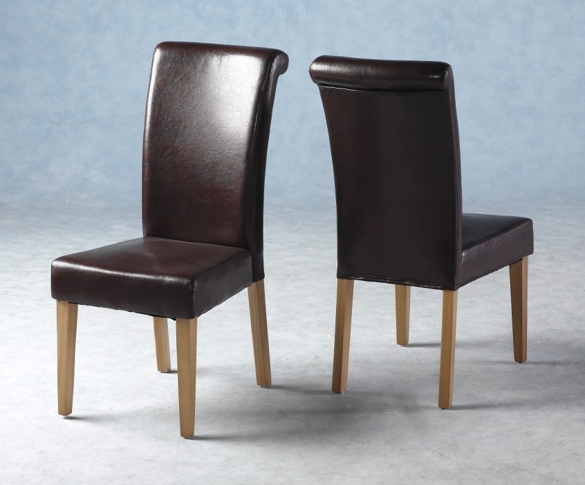 Brilliant Brown Leather Kitchen Chairs Best Dining Room Chairs Dining Chairs Design Ideas Dining Room