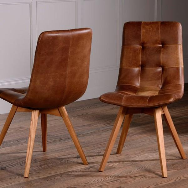 Brilliant Brown Leather Kitchen Chairs Chairs Marvellous Brown Leather Dining Chairs Brown Leather