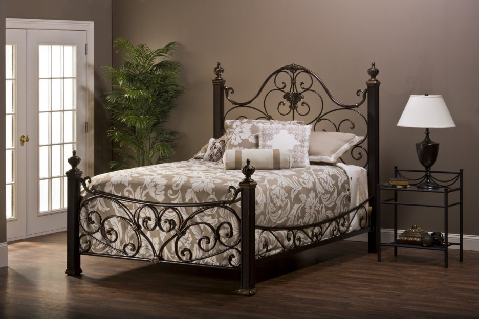 Brilliant Cal King Iron Bed Bed Frames Black Wrought Iron Bedroom Set Iron California King
