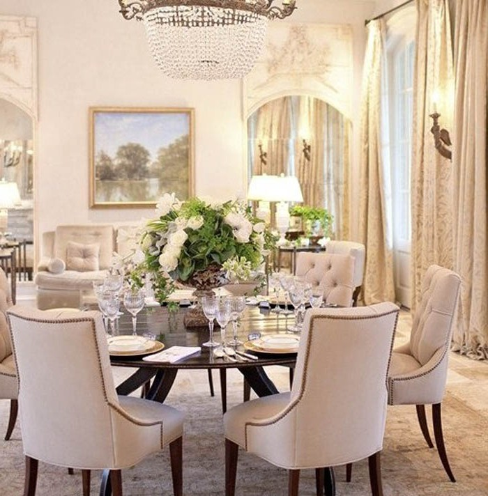 Brilliant Circle Dining Room Table Dining Room Ideas Unique Round Dining Room Tables For 6 Design