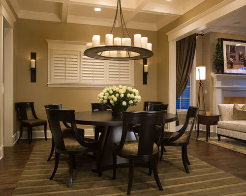 Brilliant Circle Dining Room Table Round Dining Room Table Houzz