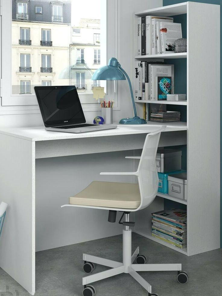 Brilliant Computer Desk Ideas For Small Room Desk Corner Computer Desk White Study Table Bookcase Storage