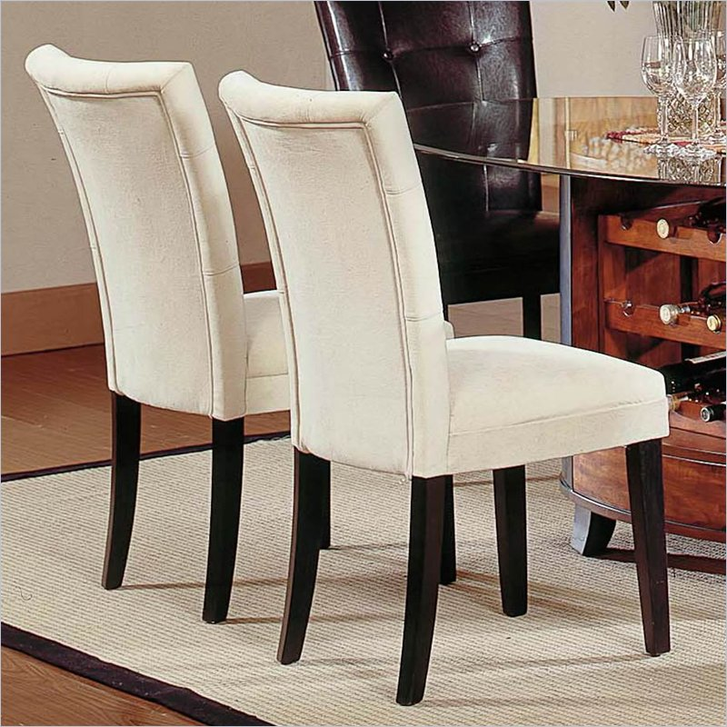 Brilliant Covered Dining Chairs Fabric Covered Dining Room Chairs Large And Beautiful Photos
