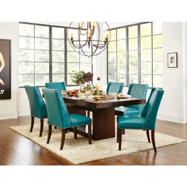 Brilliant Dark Teal Dining Chairs Dining Room Teal Chairs With Blue Chair Covers Dark Yokamon