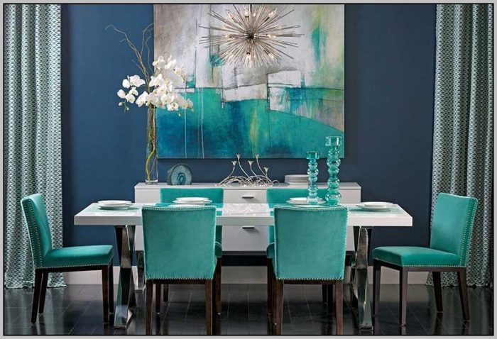 Brilliant Dark Teal Dining Chairs The Most Dark Teal Dining Room Chairs Chairs Home Decorating Ideas