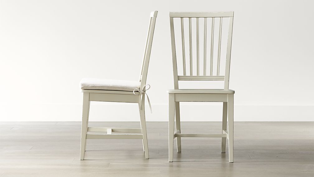 Brilliant Dining Chairs Natural Wood Village Vamelie Wood Dining Chair And Natural Cushion Crate And