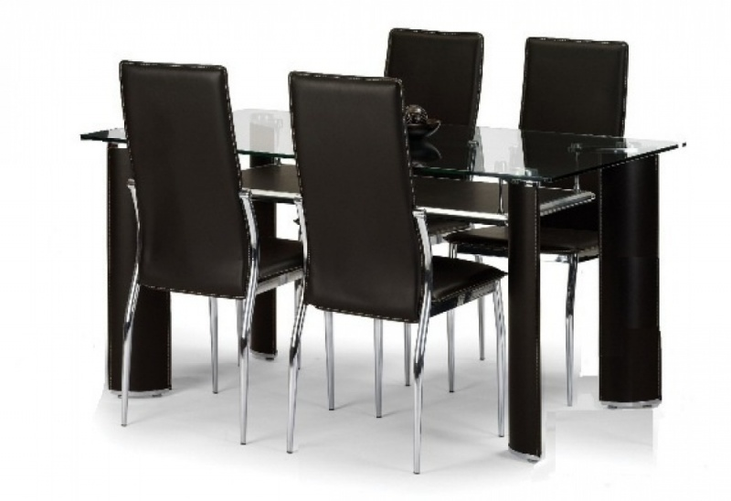 Brilliant Dining Table And 4 Chairs Chic 4 Chair Dining Table Set Dining Table Dining Table And 4