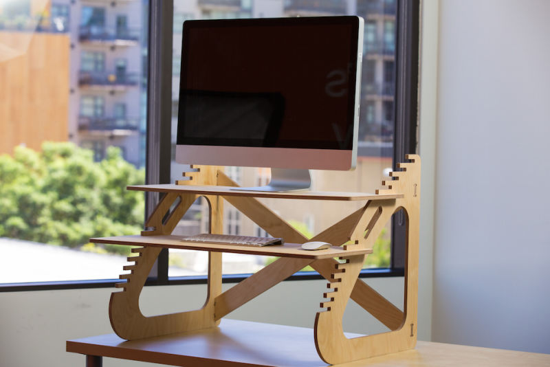 Brilliant Diy Standing Desk Build Your Own Standing Desk For About 20
