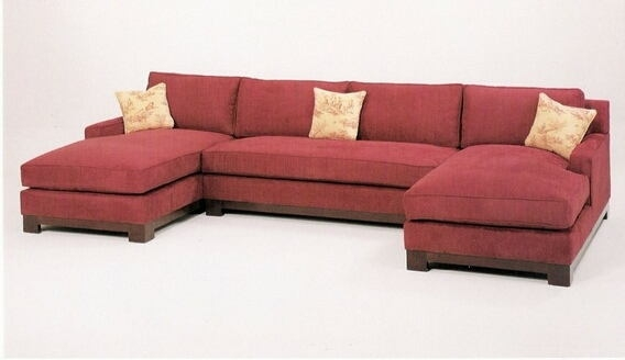 Brilliant Double Chaise Lounge Sectional Sofa Living Room 3 Pc Custom Sectional Sofa Double Chaise Yay Or Nay