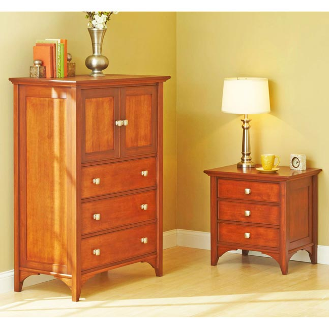 Brilliant Dresser And Nightstand Set Traditional Dresser Nightstand Woodworking Plan From Wood Magazine