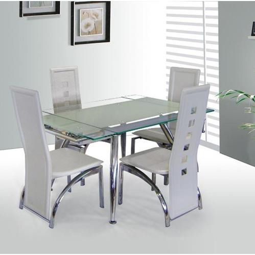 Brilliant Extending Glass Dining Table And Chairs 100 Best 4 Seater Glass Dining Sets Images On Pinterest Dining