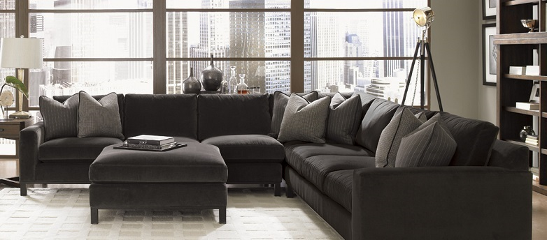 Brilliant Fabric Sectional With Chaise Fabric Sectionals Living Room Fabric Sectionals Silver Coast