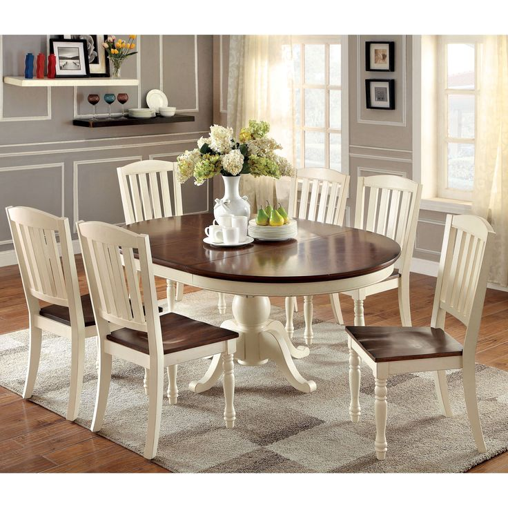 Brilliant Furniture Dining Table Sets Best 25 Oval Kitchen Table Ideas On Pinterest Oval Table Open