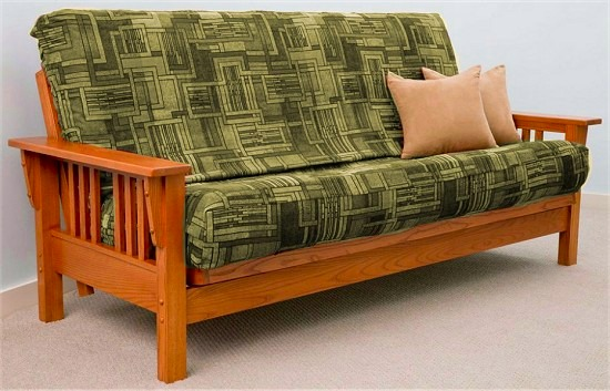 Brilliant Futon Sofa Frame Only Useful Queen Size Bi Fold Futon Sofa Bed Frame Only In Home