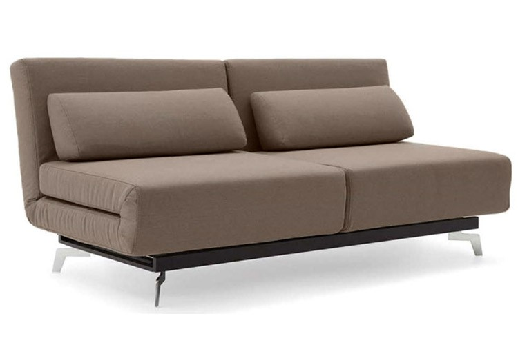 Brilliant Futons And Convertible Sofas Brown Contemporary Convertible Sofa Bed Apollo Bark The Futon Shop