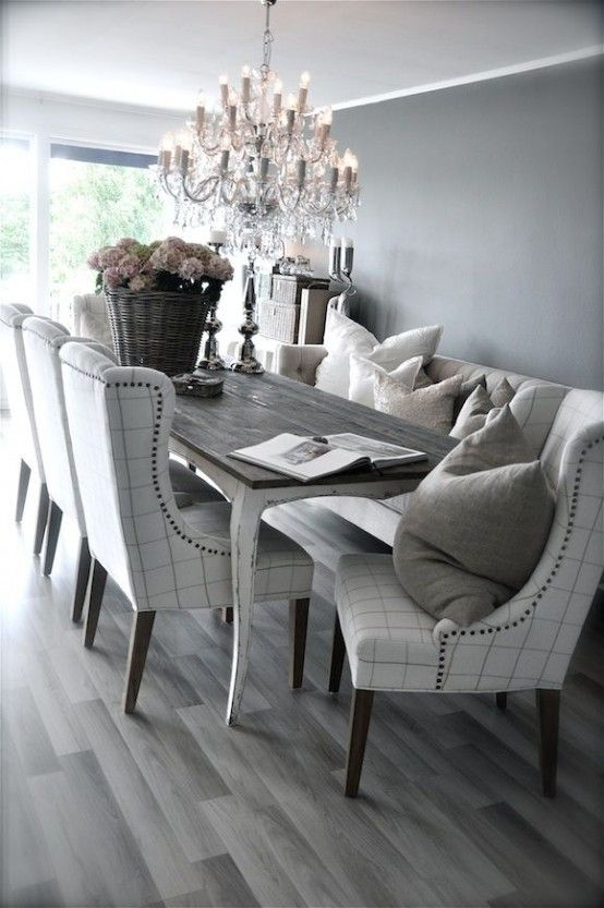 Brilliant Grey And White Dining Room Chairs Best 25 Gray Dining Tables Ideas On Pinterest Gray Dining Rooms