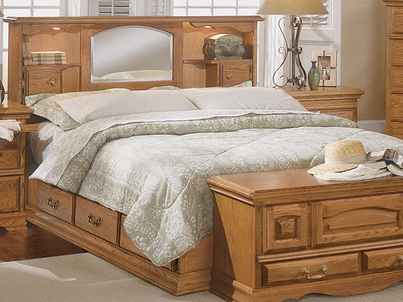 Brilliant Headboard And Frame Set Bedroom Furniture Nostalgia Bookcase Headboard American Made