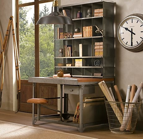 Brilliant Home Office Desk With Shelves 51 Cool Storage Idea For A Home Office Shelterness