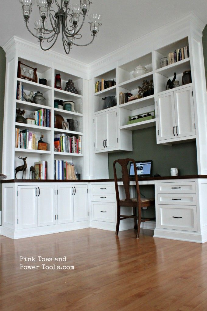Brilliant Home Office Desk With Shelves Best 25 Home Office Shelves Ideas On Pinterest Office Shelving