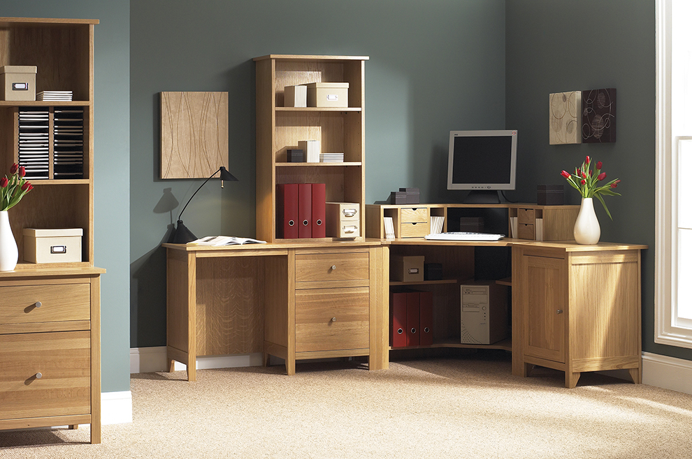 Brilliant Home Office Furniture Oak Home Office Furniture Nightvaleco