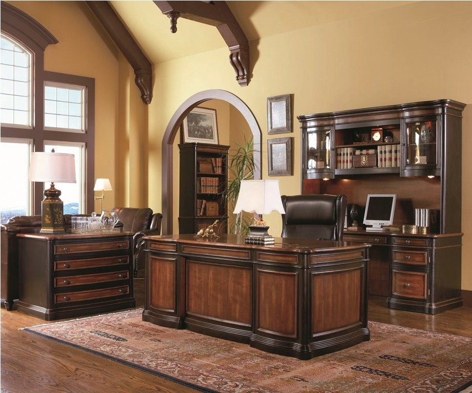 Brilliant Home Office Set Pergola Grand Style Executive Home Office Set 80050 From Coaster