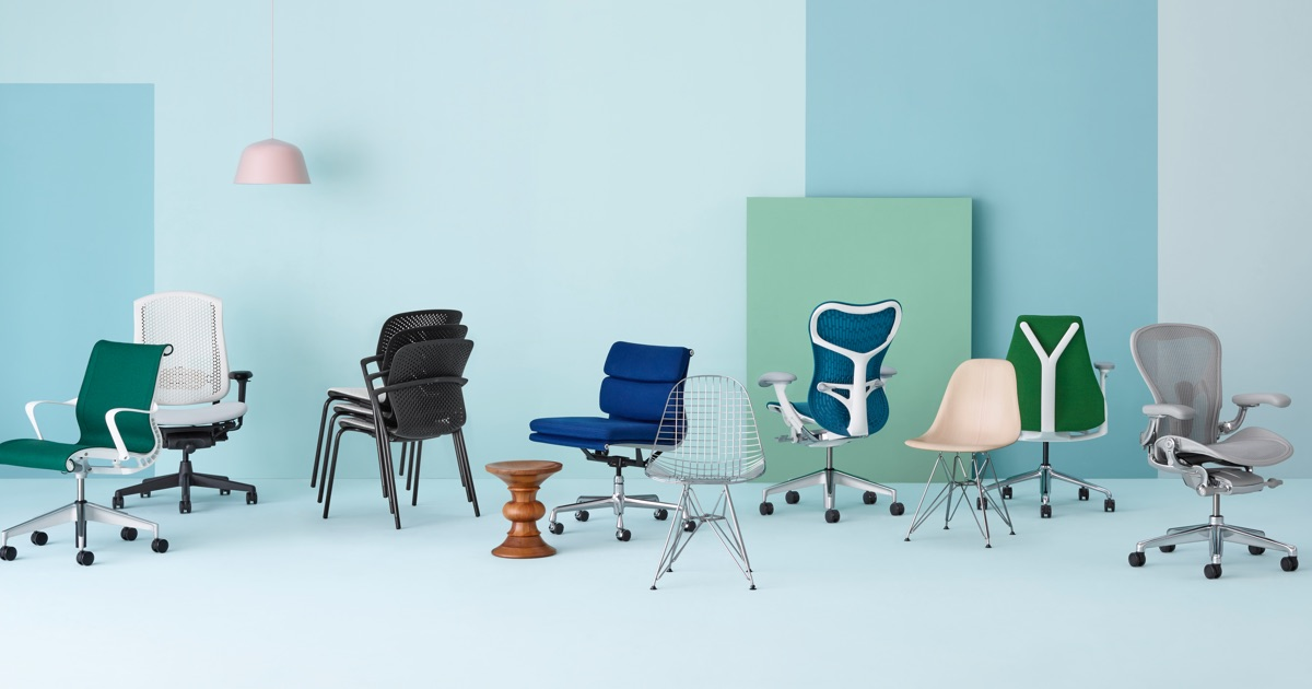 Brilliant Home Office Table And Chair Herman Miller Modern Furniture For The Office And Home