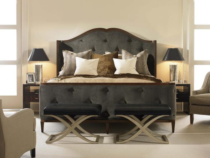 Brilliant King Size Bed With Footboard King Bed Headboard And Footboard Iemg