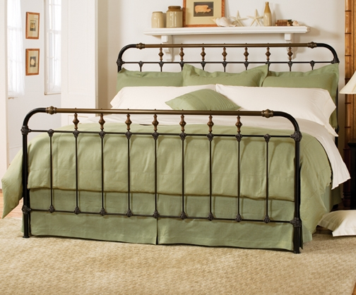 Brilliant King Size Metal Bed Boston Bed Charles P Rogers Beds Direct Makers Of Fine Beds