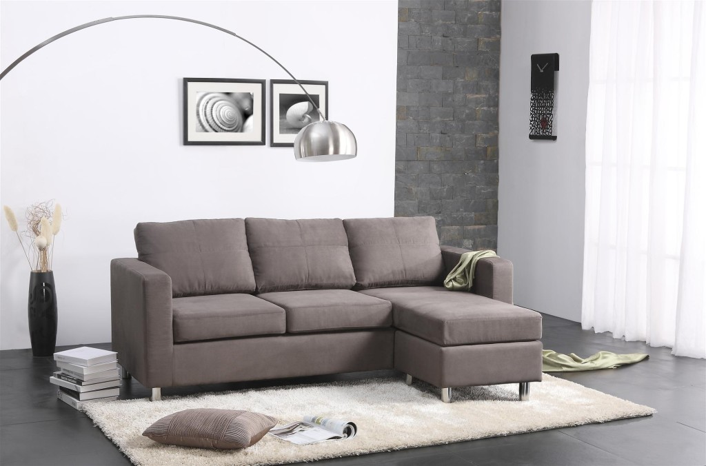 Brilliant L Shaped Chaise Sofa Furniture Dark Gray L Shape Sectional Sofa With Chaise Sofa And