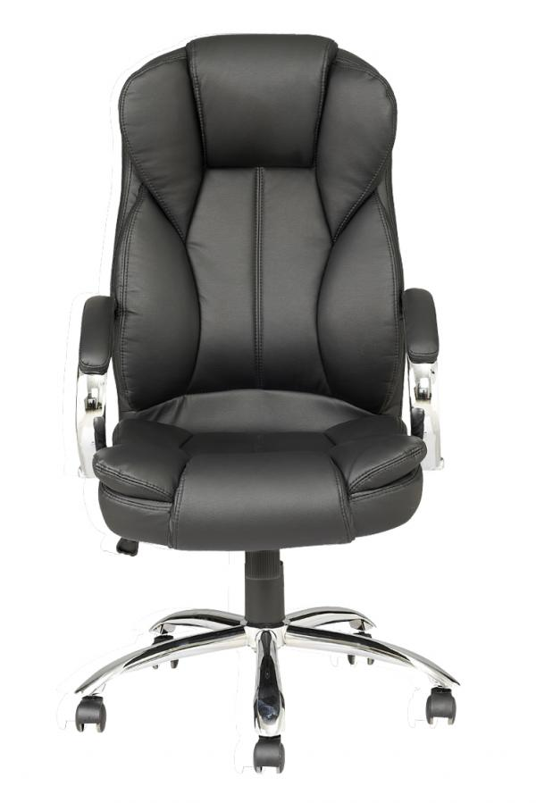 Brilliant Leather Computer Chair High Back Pu Leather Executive Office Desk Task Computer Chair W