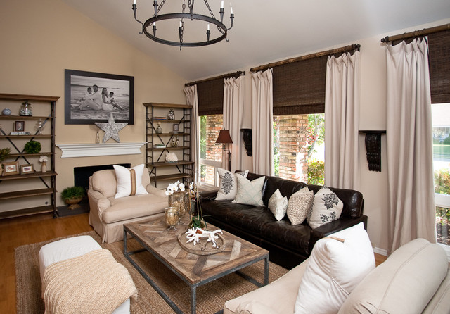 Brilliant Leather Couch Living Room Leather Couch Living Room Houzz