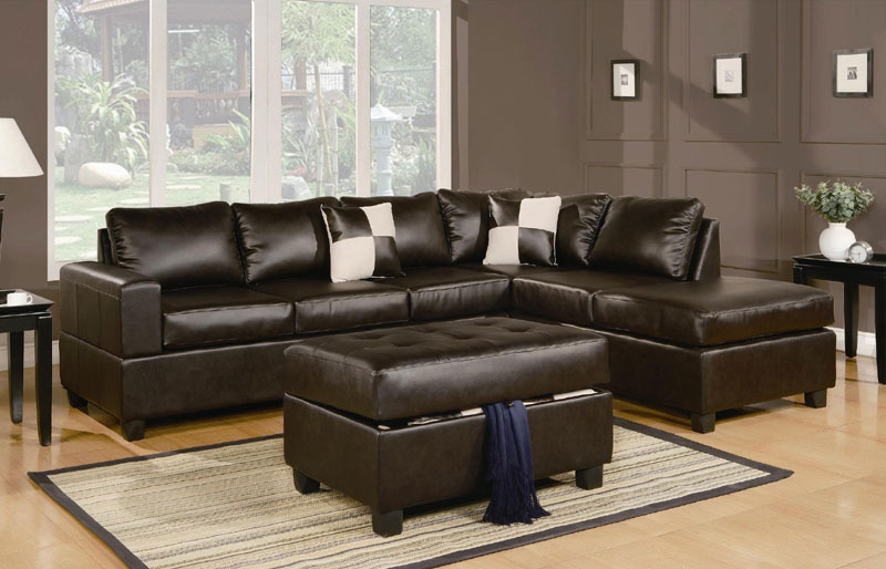 Brilliant Leather Sectional Couch With Chaise Appealing Leather Sectional Sofa Chaise Sacramento Espresso