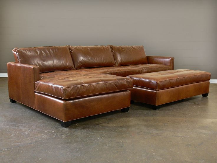 Brilliant Leather Sectional Couch With Chaise Best 25 Leather Sectional Sofas Ideas On Pinterest Leather