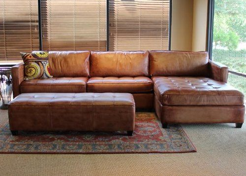 Brilliant Leather Sectional With Chaise Fantastic Leather Sectional Sofa Chaise Best Ideas About Leather