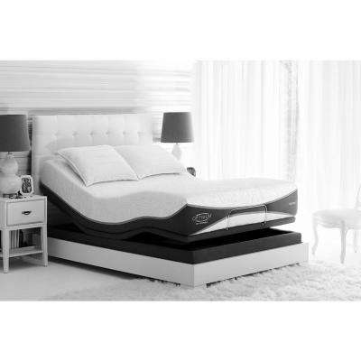 Brilliant Mattress Plus Box Spring Mattresses Bedroom Furniture The Home Depot