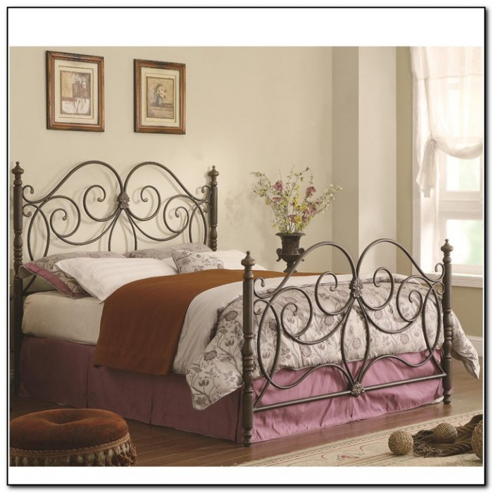 Brilliant Metal Bed Frame With Headboard And Footboard King Metal Bed Frame Headboard Footboard 448
