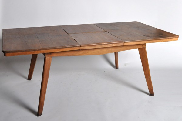 Brilliant Modern Extension Dining Table Mid Century Modern Extension Dining Table C 1950 Furniture