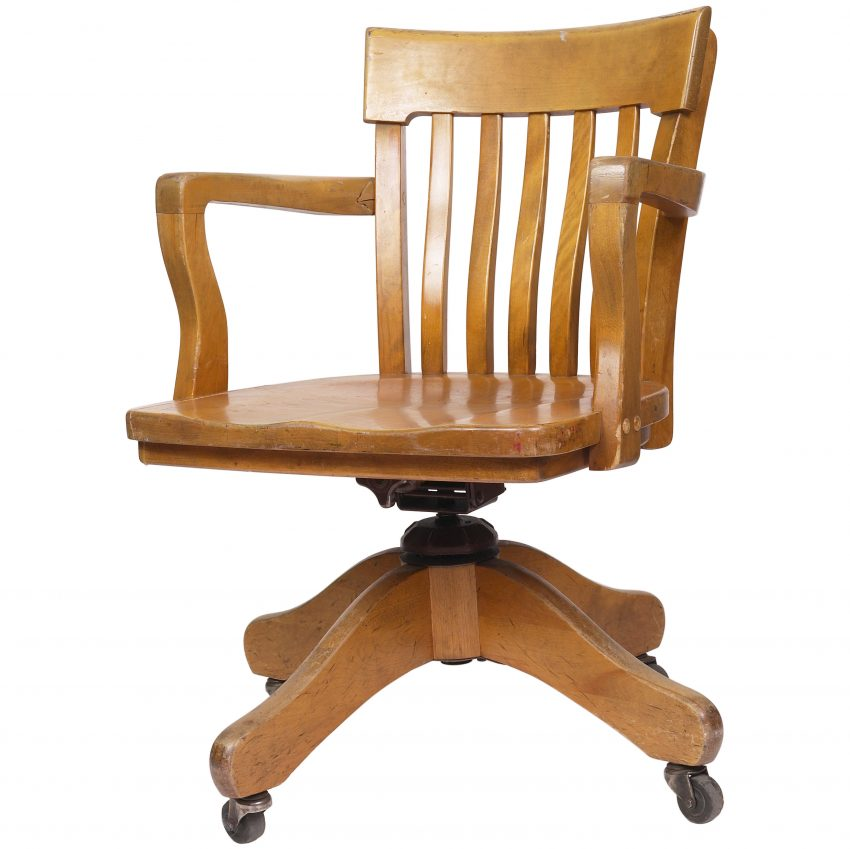 Brilliant Oak Office Chair Articles With Vintage Solid Oak Desk Chair Tag Vintage Oak Office