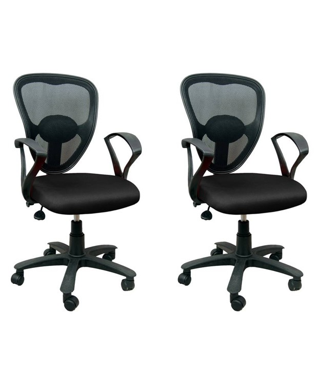 Brilliant Office Chair Set Buy Online 1 Office Chair Get 1 Free Black At Rs3933
