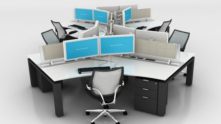 Brilliant Office Desk Configurations Innovant Products 120 Configurations