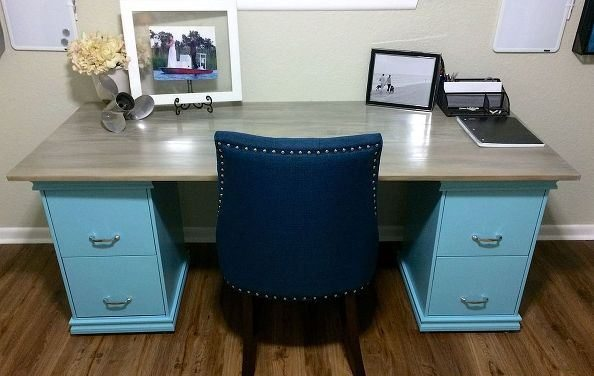 Brilliant Office Table With File Cabinet Diy Friday Build Your Own File Cabinet Desk Mcaleers Office