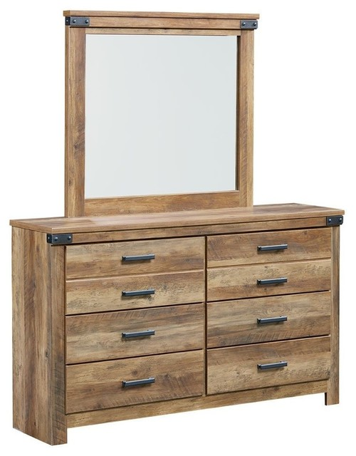 Brilliant Pine 6 Drawer Dresser Standard Furniture Montana 6 Drawer Dresser Mirror Pine Rustic