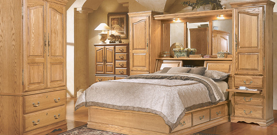 Brilliant Queen Bedroom Set With Armoire Wall Beds Master Piece Pier Group American Made