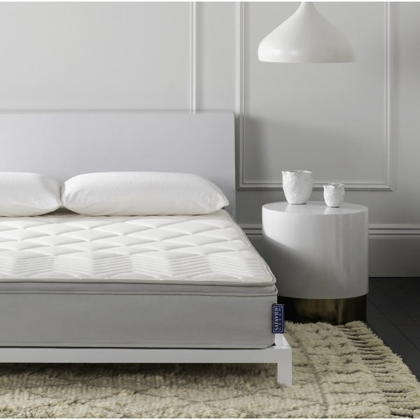 Brilliant Queen Size Bed In A Box Safavieh Nirvana 10 Inch Euro Pillow Top Spring Queen Size