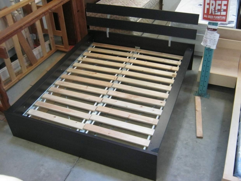 Brilliant Queen Size Bed Planks Ikea Queen Bed Frame Do It Yourself Bed Frame Awesome On Ikea