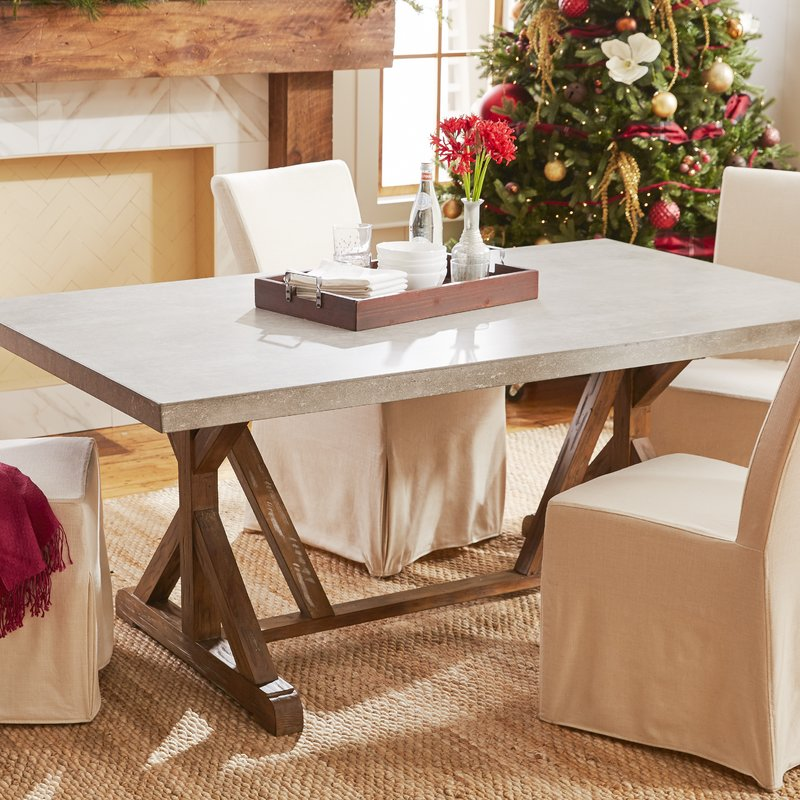 Brilliant Rectangle Dining Table Farmhouse Dining Tables Birch Lane