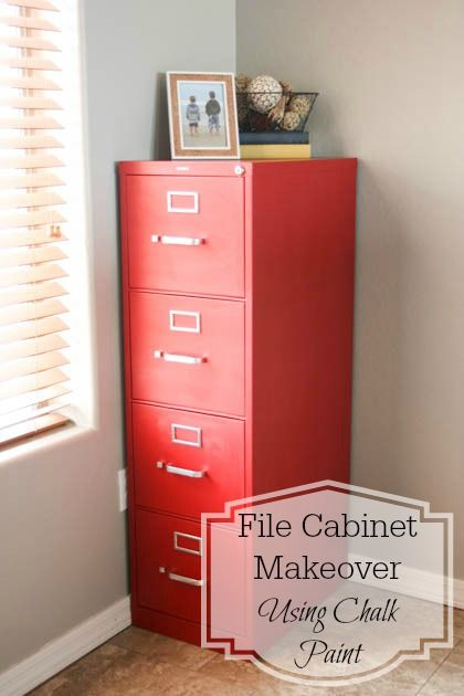 Brilliant Red Filing Cabinet Best 25 Painted File Cabinets Ideas On Pinterest Painting Metal