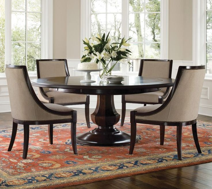 Brilliant Round Dining Room Tables Best 25 60 Round Dining Table Ideas On Pinterest Round Dining