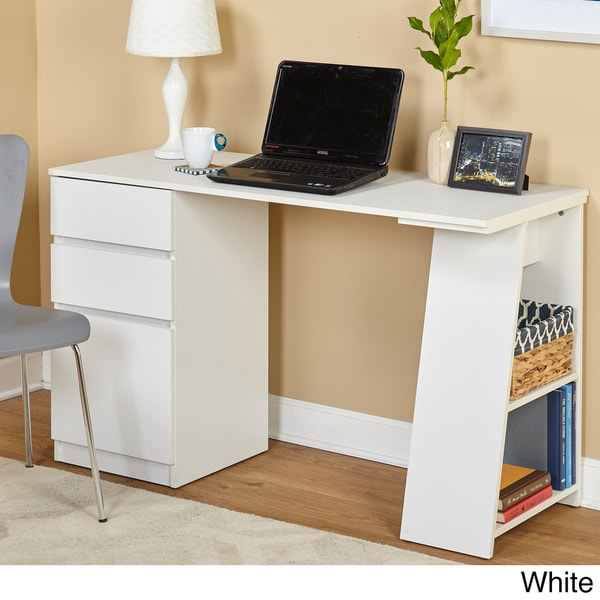 Brilliant Simple Modern Desk Simple Living Como Modern Writing Desk Free Shipping Today