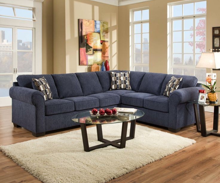 Brilliant Small Blue Sectional Sofa Best 25 Blue L Shaped Sofas Ideas On Pinterest Yellow L Shaped